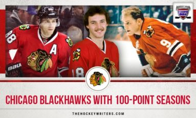 Chicago Blackhawks With 100-Point Seasons