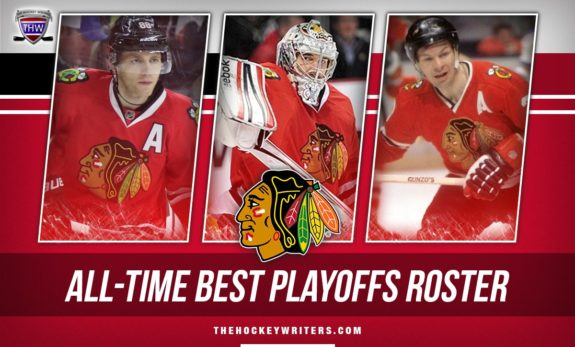 Chicago Blackhawks All-Time Best Playoffs Roster