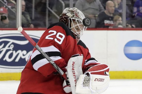 New Jersey Devils MacKenzie Blackwood