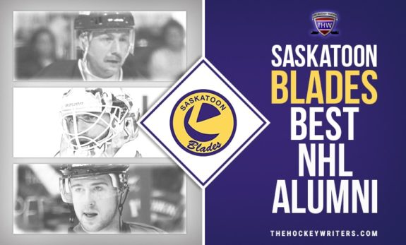 Saskatoon Blades Best NHL Alumni Bernie Federko, Braden Holtby, and Mike Green