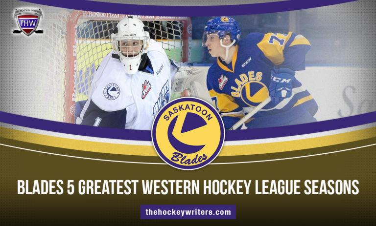 Saskatoon Blades 5 Greatest Western Hockey League Seasons Kirby Dach Andrey Makarov