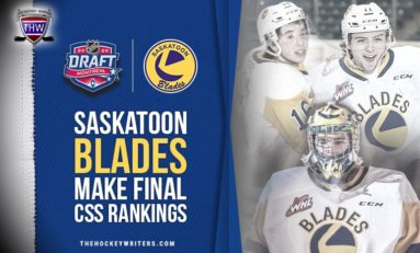 5 Saskatoon Blades Make Cut in NHL Central Scouting Draft Rankings