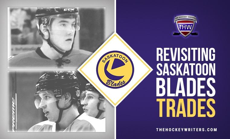 Revisiting Saskatoon Blades Trades Brayden Schenn and Michael Ferland