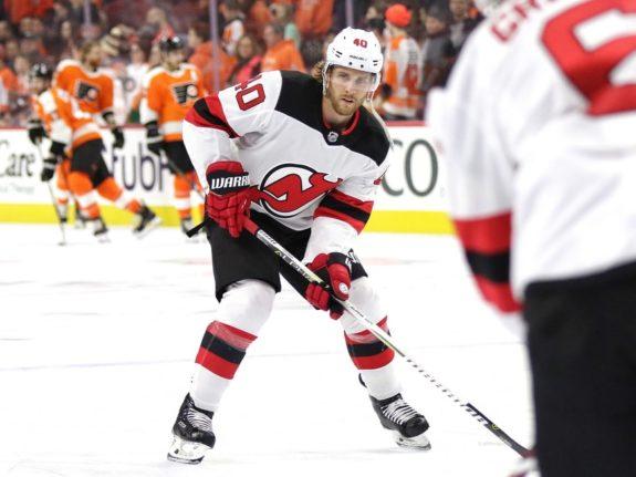 Blake Coleman #40, New Jersey Devils