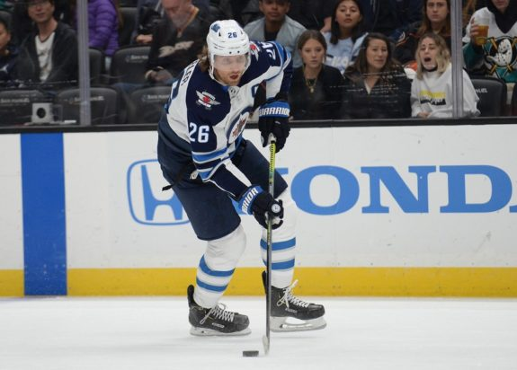 Winnipeg Jets Blake Wheeler