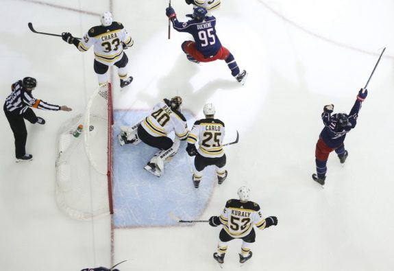Columbus Blue Jackets Boston Bruins