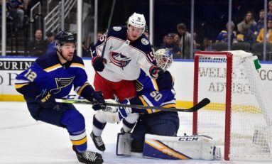 Blue Jackets Youth Teaching Veterans Valuable Lesson