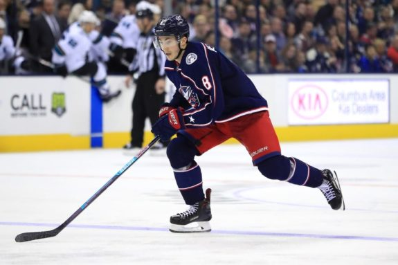 Blue Jackets host the Red Wings after overtime victory