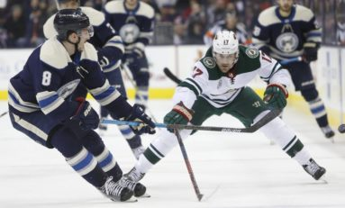 Wild Lock Up Top Defensive Forward Marcus Foligno