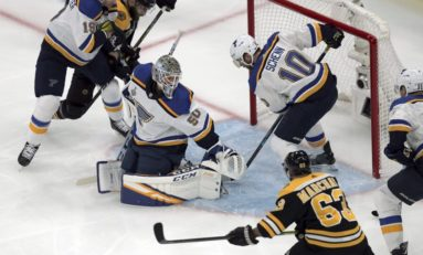 Bruins' Top Line Needs to Be Better Versus the Blues