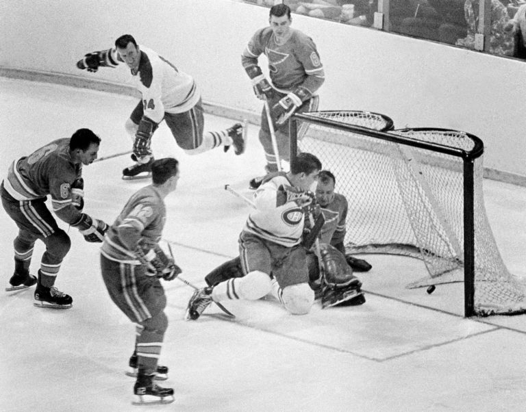 St. Louis Blues Montreal Canadiens Stanley Cup Final 1968
