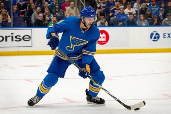 St. Louis Blues Carl Gunnarsson