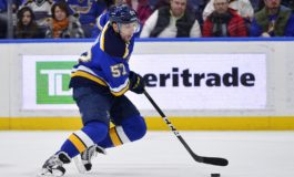 David Perron Scores in Overtime, Blues Beat Flames 3-2