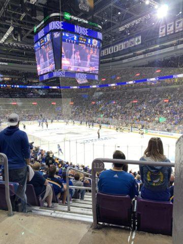 St. Louis Blues Enterprise Center 2019 Playoffs