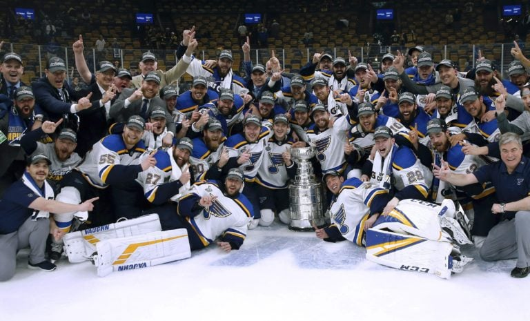 St. Louis Blues Stanley Cup.