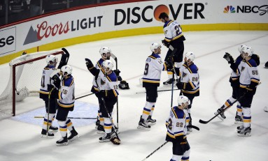 Recap: Allen, Blues Shutout Senators in Blowout