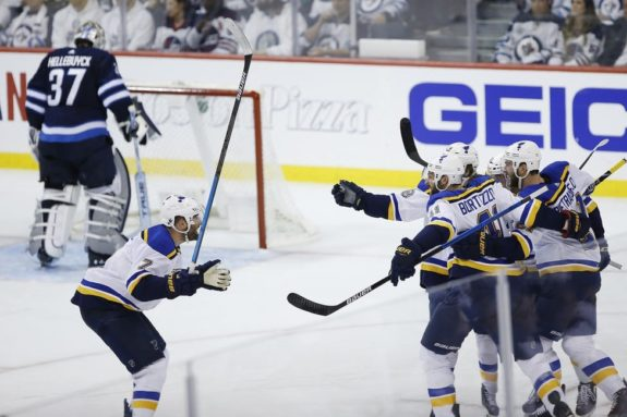 Winnipeg Jets vs St. Louis Blues