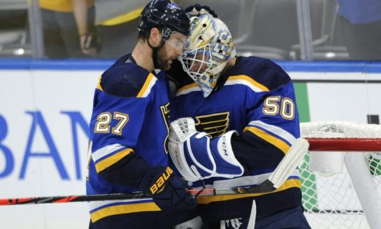 St. Louis Blues' Chemistry Not an Issue