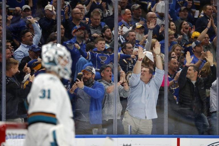 St. Louis Blues fans