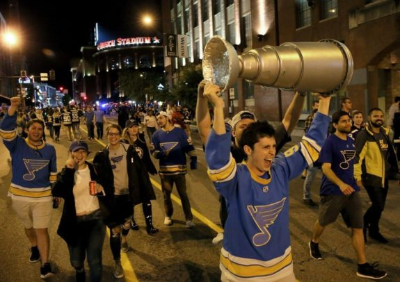 St. Louis Blues fans, 2019 Stanley Cup Final