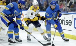 Blues Pounce on Predators for 5th Straight Win