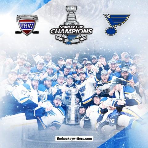 Instagram 2019 Stanley Cup Champions St. Louis Blues Team Photo