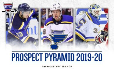 St. Louis Blues' 2019 Prospect Pyramid