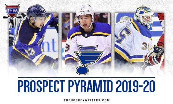 St. Louis Blues Prospect Pyramid: 2019-20