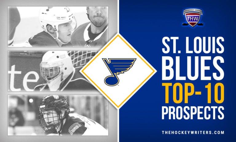 St. Louis Blues Top-10 Prospects Scott Perunovich, Joel Hofer, Klim Kostin, Tyler Tucker
