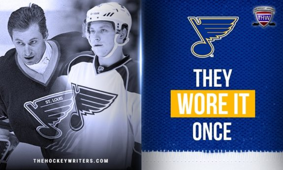St. Louis Blues They Wore it Once