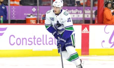Canucks' Horvat Carrying Sedin Legacy