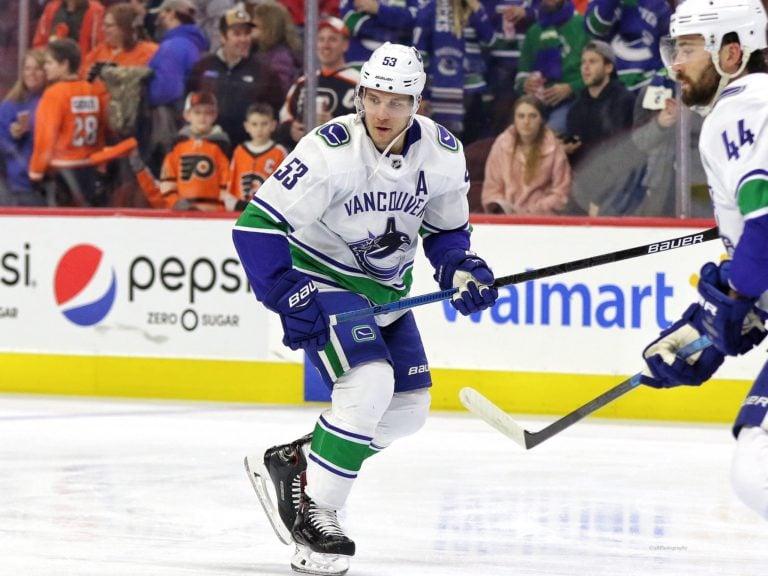 Bo Horvat Vancouver Canucks