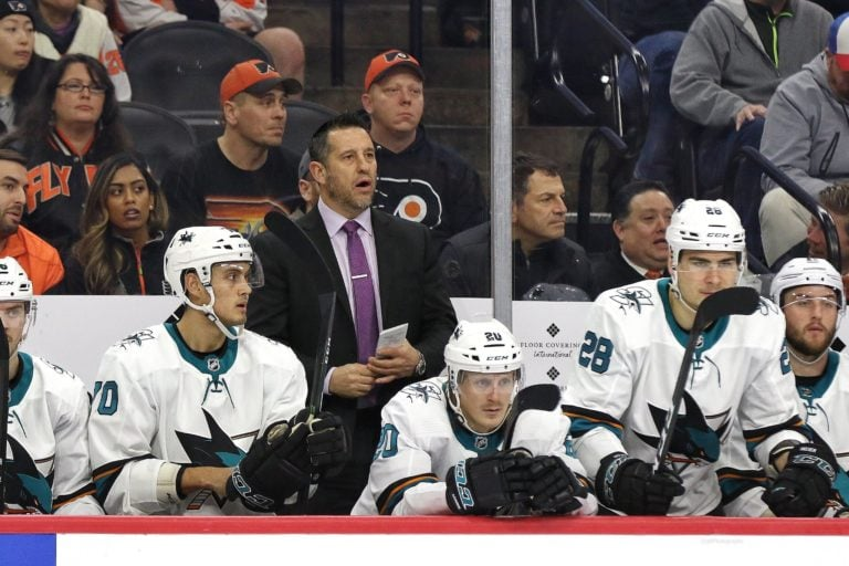 Bob Boughner San Jose Sharks