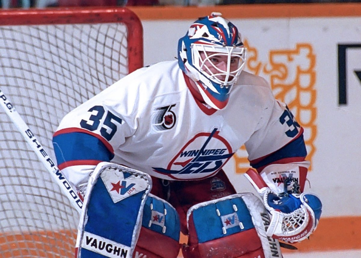Bob Essensa Winnipeg Jets