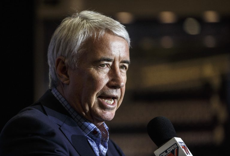 CEO and Vice-Chair, Oilers Entertainment Group, Bob Nicholson
