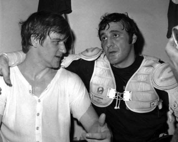 Bobby Orr Phil Esposito Boston Bruins