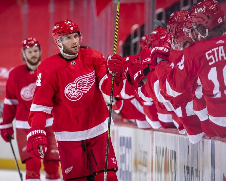 Bobby Ryan Detroit Red Wings
