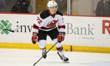 Carpenter Impressive at Devils Camp