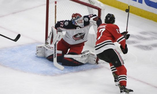 Blue Jackets Beat Blackhawks - Panarin With 3 Points