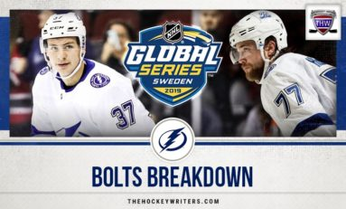Bolts Breakdown: Hedman Leads Lightning in Global Series Sweep