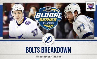 Bolts Breakdown: Hedman Leads Lightning in Global Series Sweep