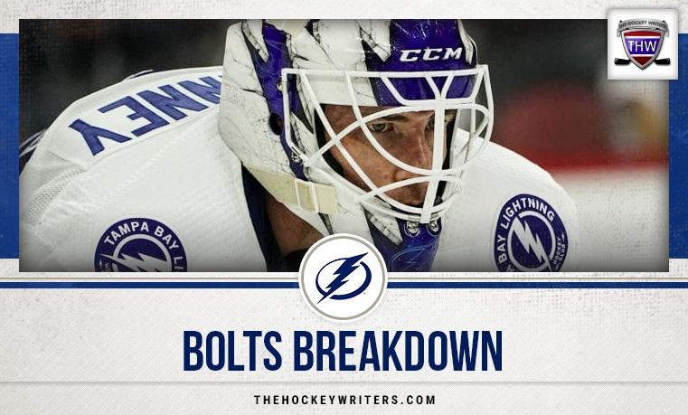 Tampa Bay Lightning Bolts Breakdown Curtis McElhinney