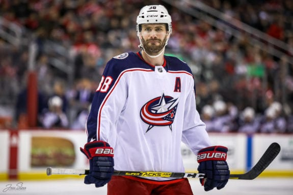 Boone Jenner Columbus Blue Jackets