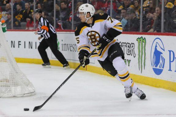 Boston Bruins Connor Clifton