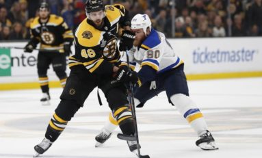 Krejci May Miss Bruins Opener, Bergeron Expected to Be Ready