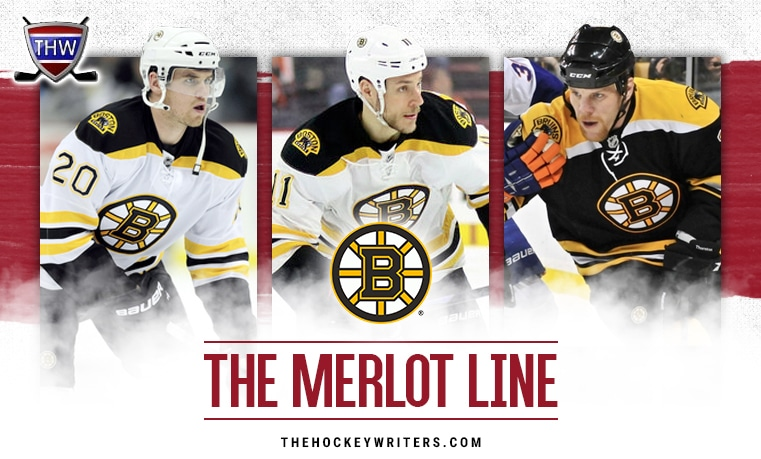 Daniel Paille Gregory Campbell and Shawn Thornton