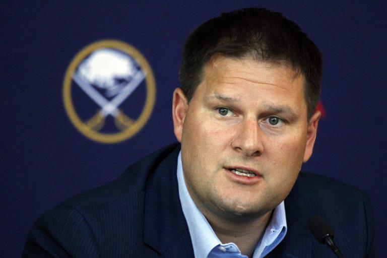 Buffalo Sabres general manager Jason Botterill