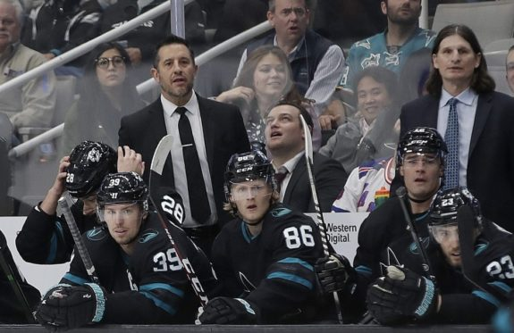 Bob Boughner Mike Ricci San Jose Sharks