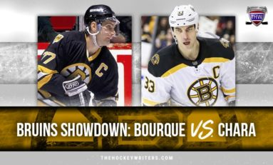 Bruins Showdown: Ray Bourque vs. Zdeno Chara