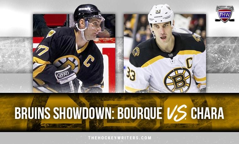 Boston Bruins Showdown Ray Bourque Vs Zdeno Chara